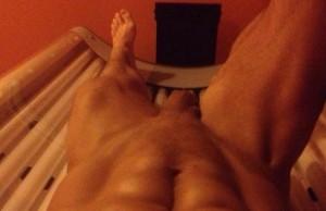 Guys Tanning Naked 44