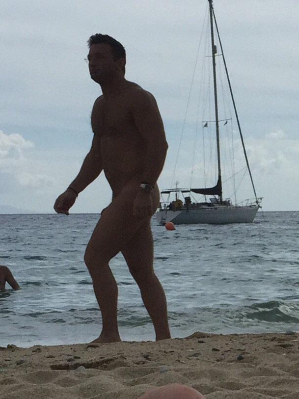 muscle man nudist