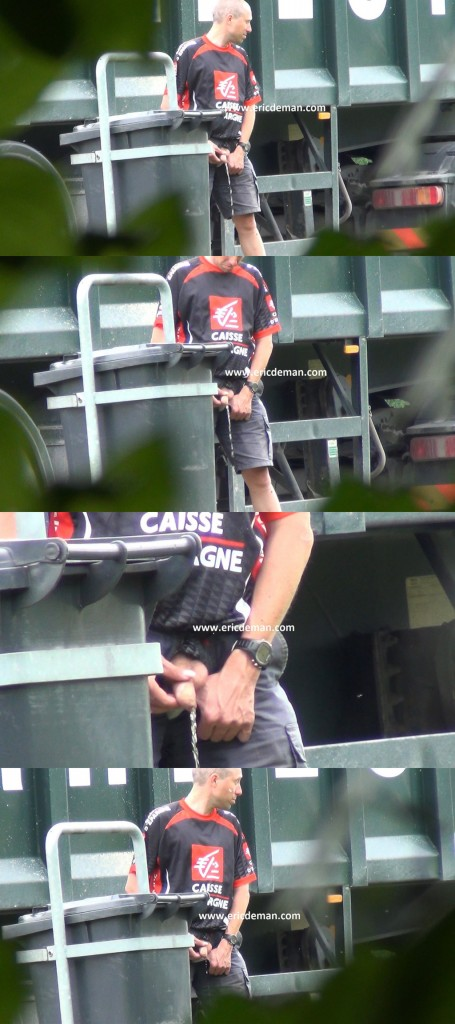 spycam trucker caught peeing ericdeman