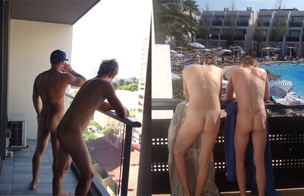 Naked Guys Caught 47