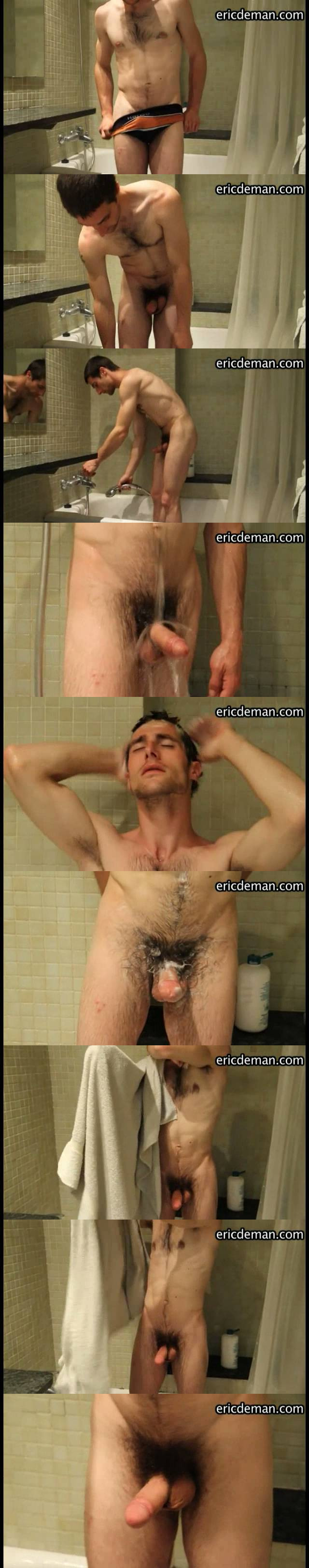 homemade video exhibitionist guy shower
