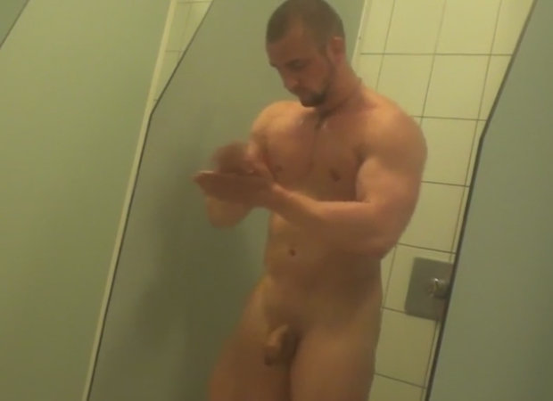 nude stud shower spycam