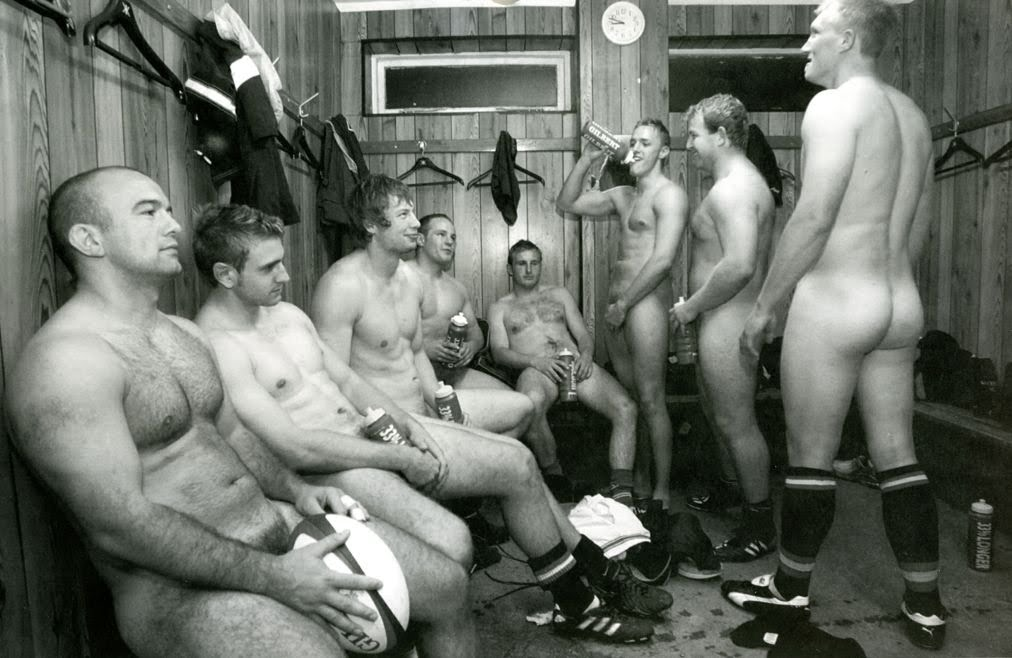 rugby players nude locker room