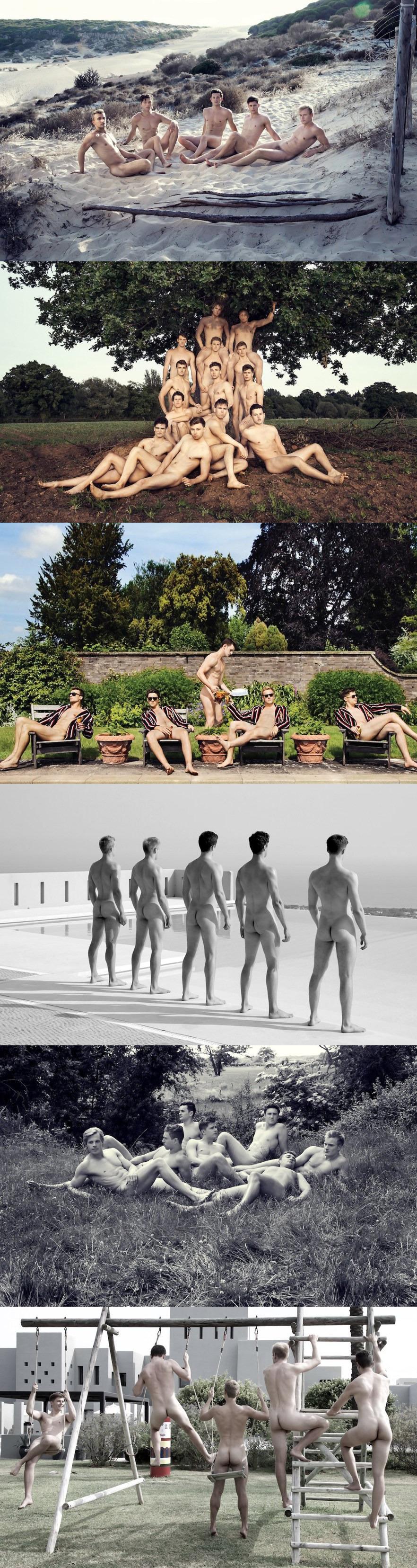 sportsmen naked warwick rowers