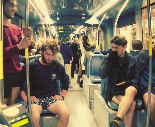 guys in underwear tube