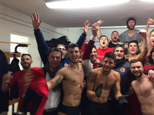 italian footballers lockerroom celebration