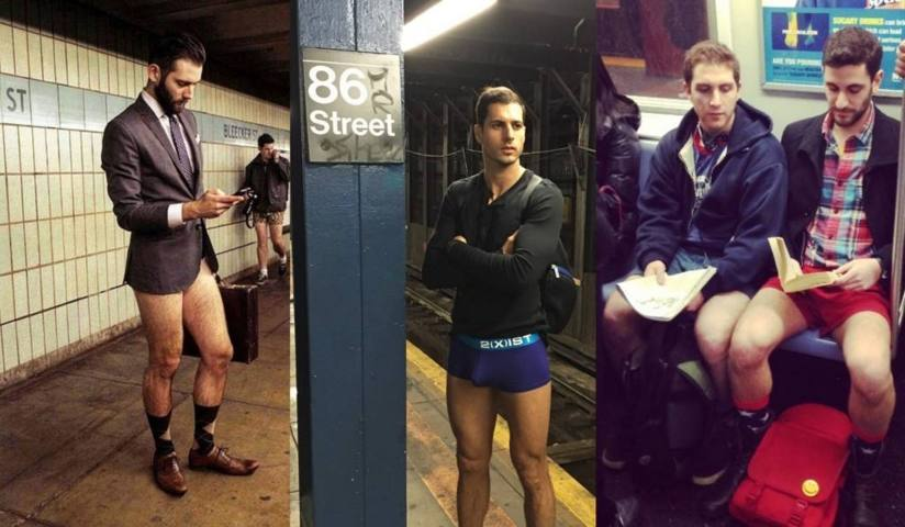 no pants day london guys