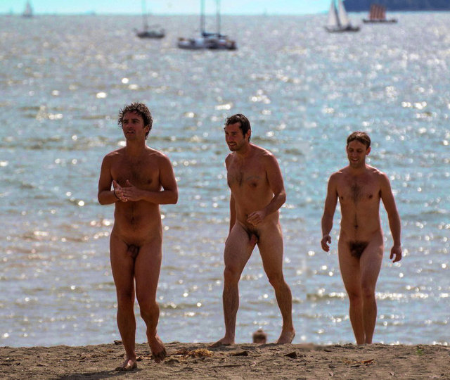 nudist men beach