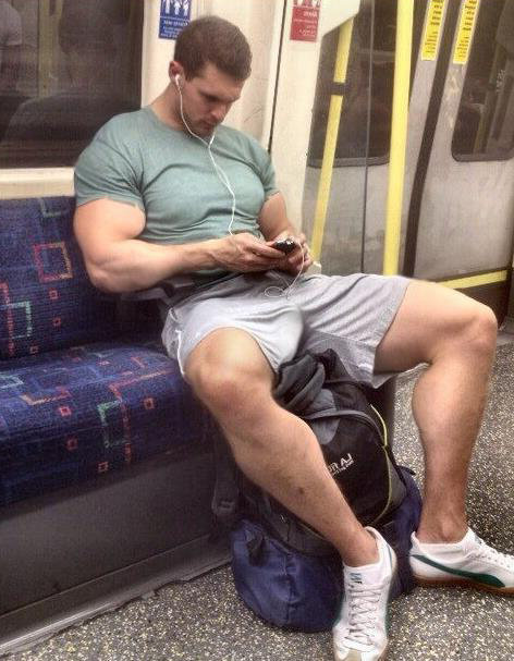 Jerking on trains showing feet gay a toe 8