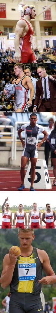 athletes sportsmen bulges visible penis line