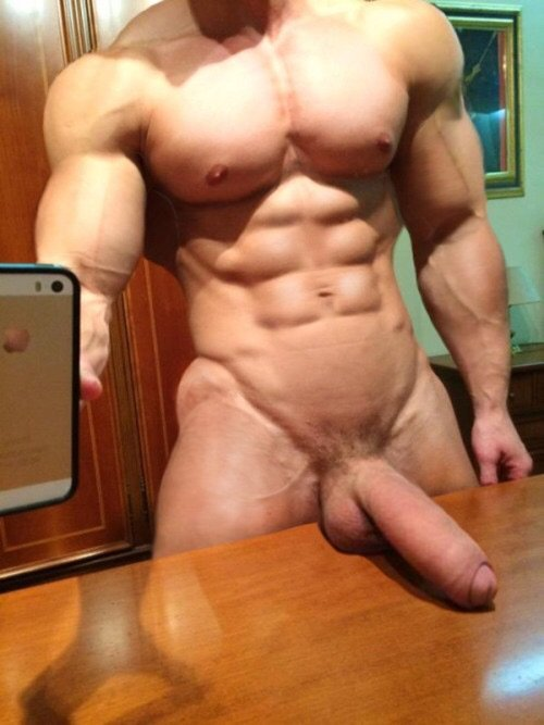 Huge dick selfies