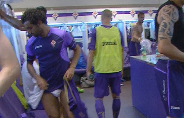 italian footballers underwear bulges lockerroom cameras