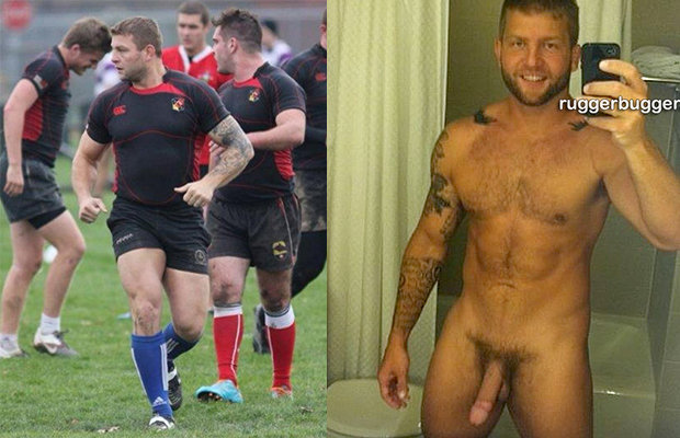 Naked rugby player nude regret