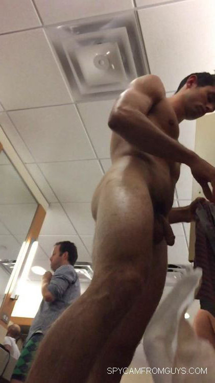 naked girl in guys locker room