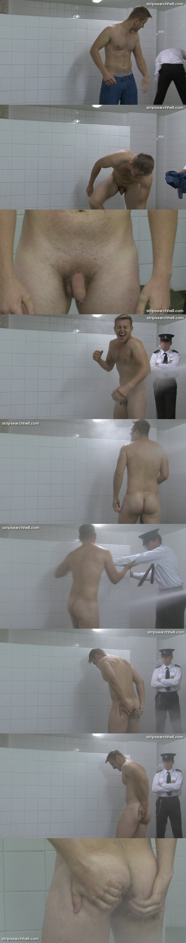 strip search hell forced shower
