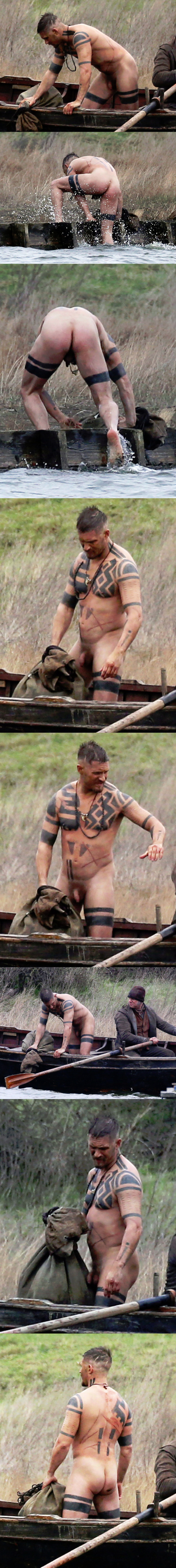 tom hardy naked dick ass uncensored movie taboo