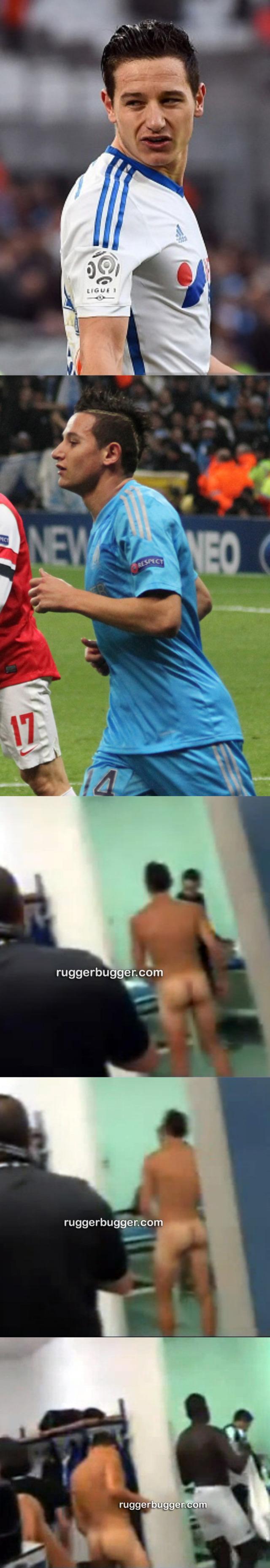 footballer florian thauvin naked ass lockerroom