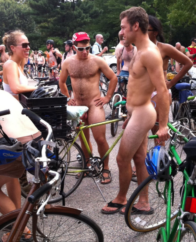 Love cyclist naked world