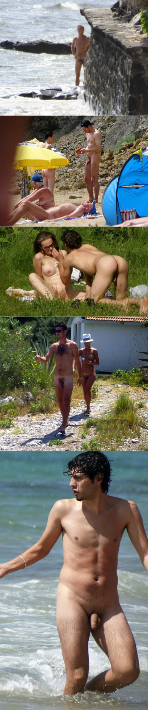 nudist beach guys caught by spy cams
