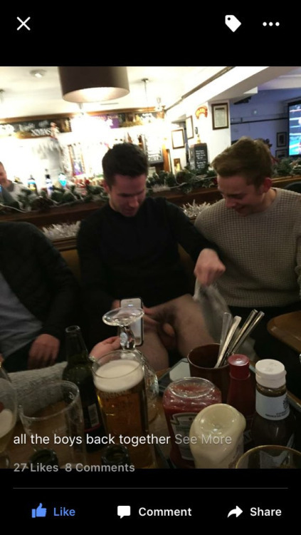straight dude dick flashing bar with friends