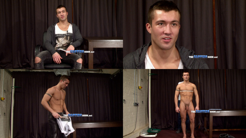 straight guy stripping naked the casting room