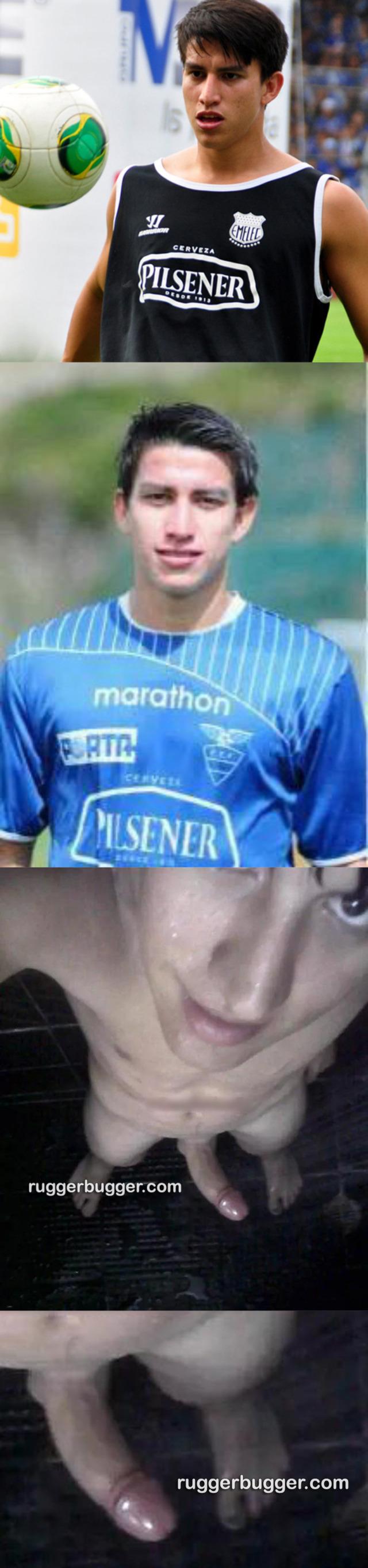 footballer fernando gaibo showing hard dick