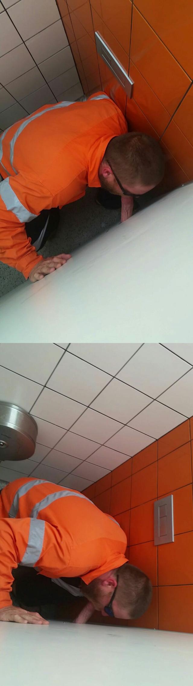 Realistic hidden glory hole web cams
