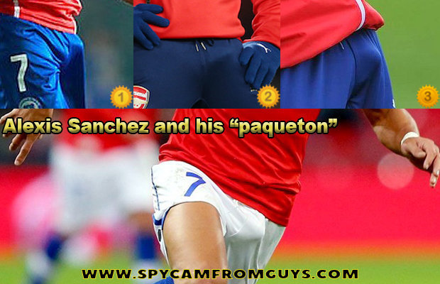 soccer player alexis sanchez bulge