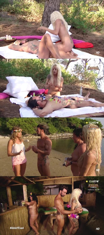 alejandro full frontal naked adam eva reality tv