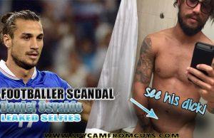 footballer daniel osvaldo naked selfies
