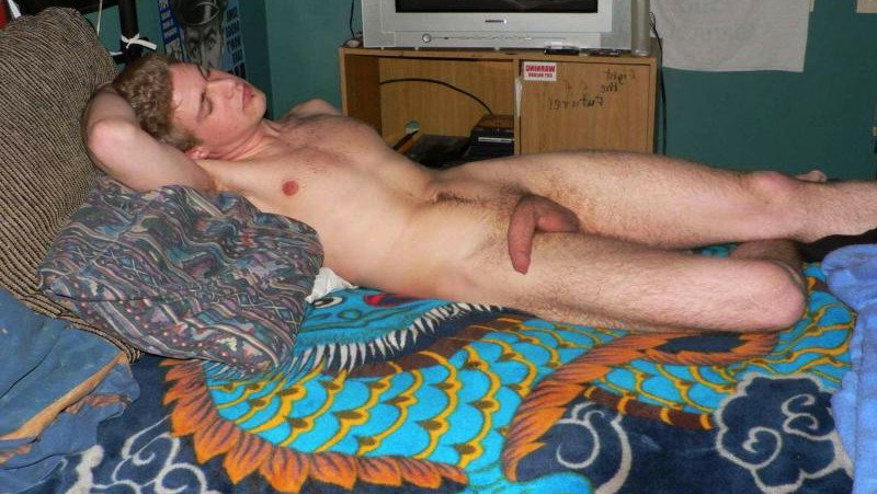 big uncut dick caught sleeping naked