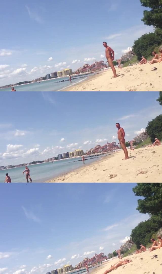 man hardon nudist beach spycam