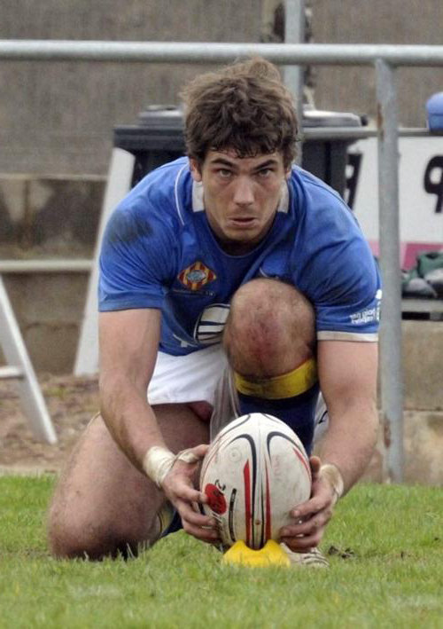 Doubt dick pop out rugby player