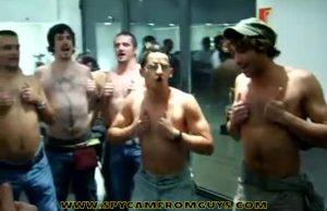 ruggers stripping naked lockerroom