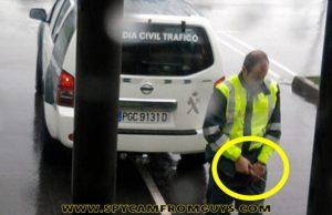 man caught peeing public caught by spycam