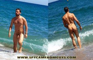 nudist man beach dick ass