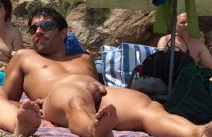 nudist man shaved dick