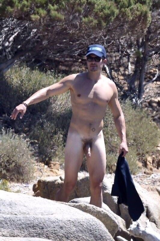 orlando bloom caught naked dick