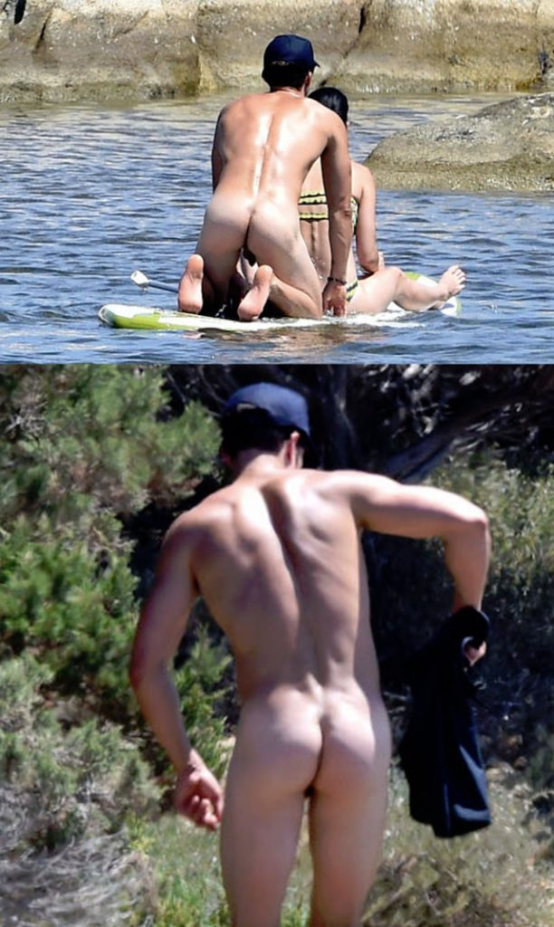 orlando bloom naked ass