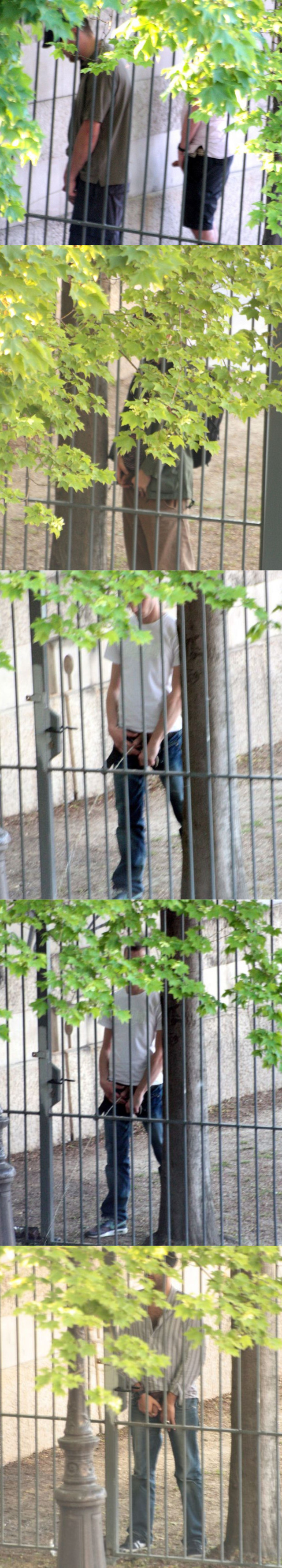 spycam pics guys caught peeing outdoor