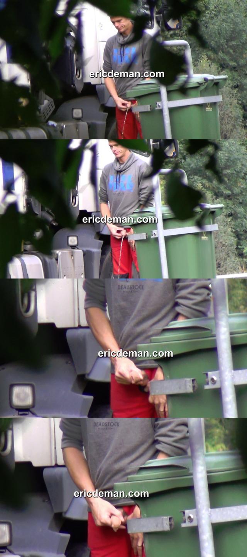 trucker peeing caught by ericdeman spycams