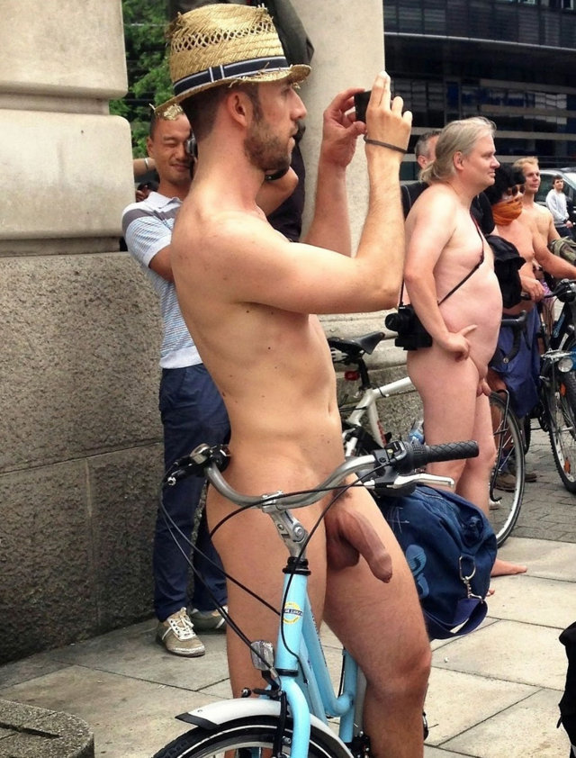 wnbr naked guy big uncut dick boner