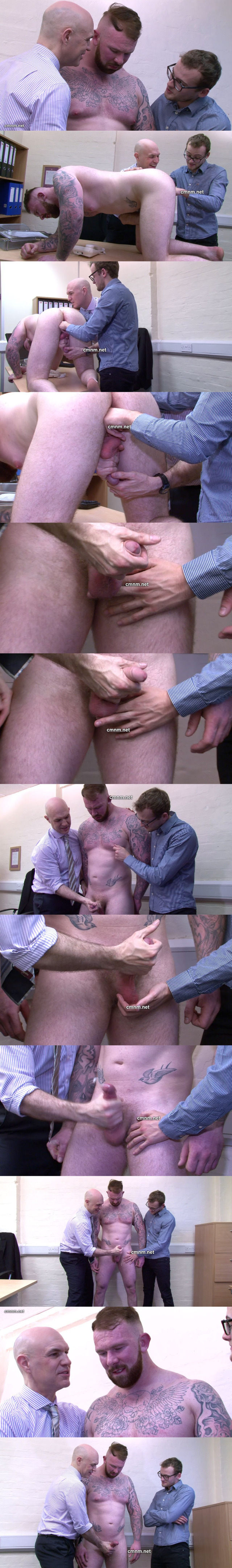 cmnm straight muscled tattooed builder abused