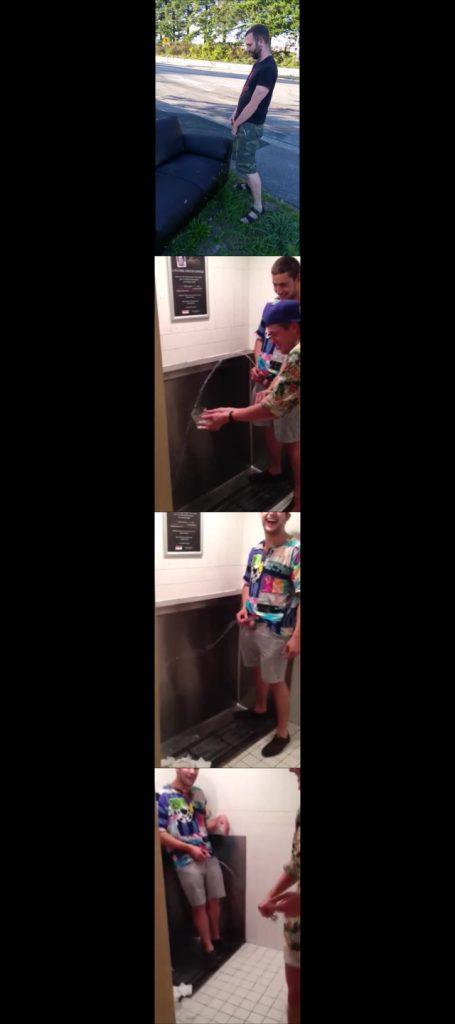 guy pissing videos