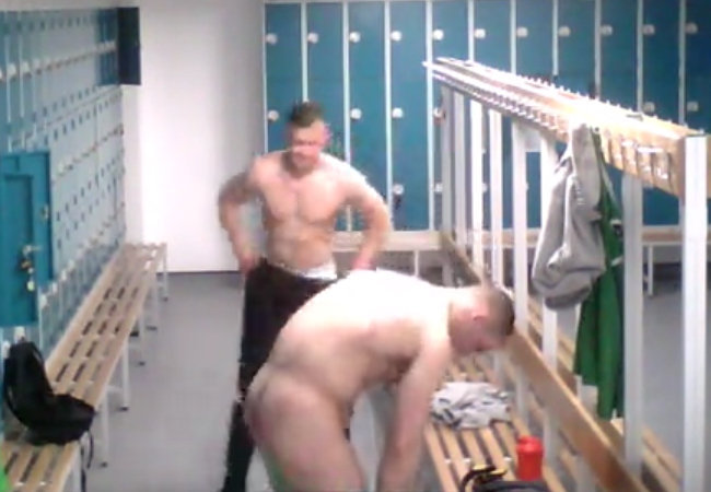 nude studs lockerroom spycam