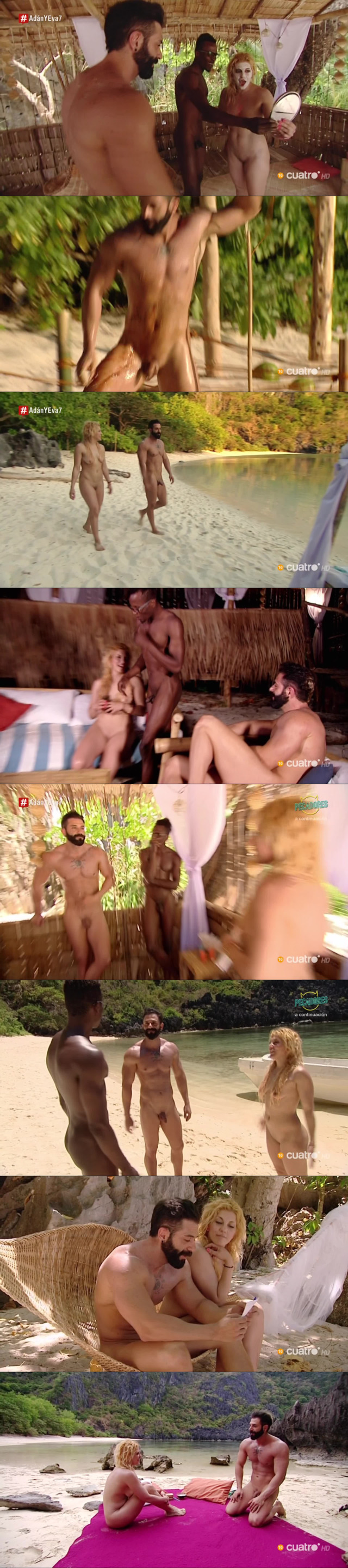 ricardo naked adam eve tv