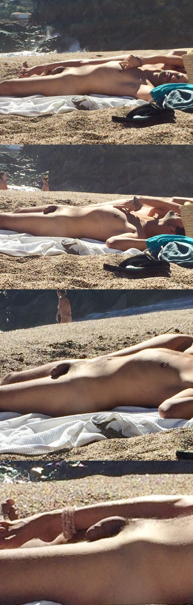 Something Nudist beach spycam