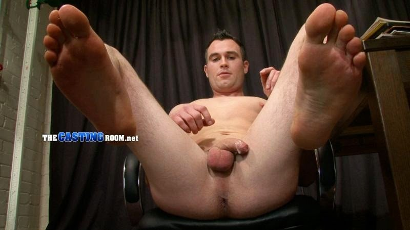 Cathal McCarron naked at thecastingroom