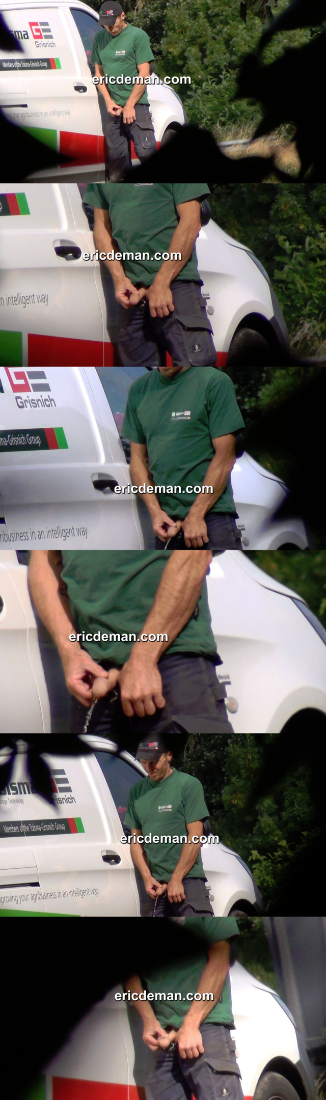 Trucker caught peeing by EricDeman spycams