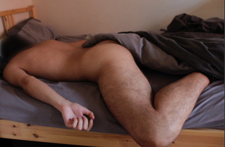 guy-room-mate-caught-sleeping-naked-ass